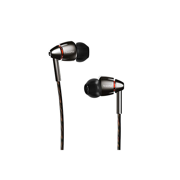 QUAD 4D Earbuds Silver