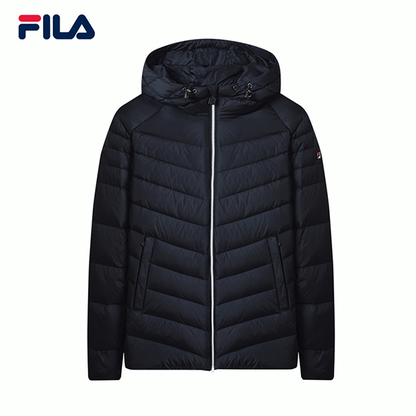 2018 Winter new sports casual simple warm hooded down jacket